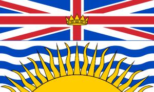 British Columbia State Flag